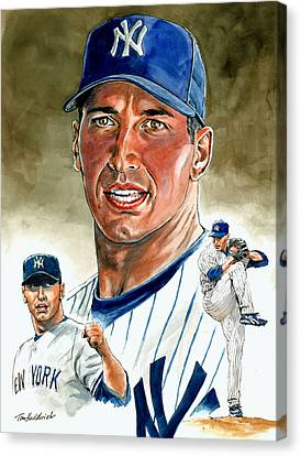 Pettitte Canvas Print by Tom Hedderich