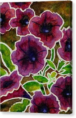 Petunia Canvas Print