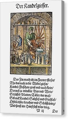 Pewterer, 1568 Canvas Print by Granger