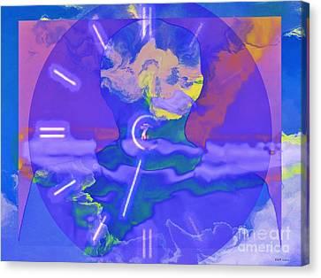 Phantom Crash Of Flight 334 Canvas Print by Elizabeth McTaggart