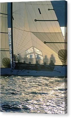 Phantom Crew - Lake Geneva Wisconsin Canvas Print by Bruce Thompson
