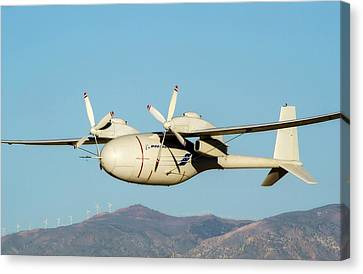 Phantom Eye Endurance Uav Canvas Print by Nasa/boeing, Bob Ferguson