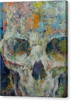 Pharaoh Canvas Print by Michael Creese