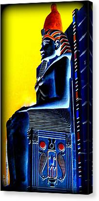 Pharaoh's Lost Kingdom 4 Canvas Print by Randall Weidner