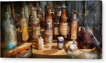 Pharmacist - Digestable Canvas Print by Mike Savad