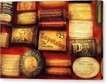 Pharmacist - The Druggist Canvas Print by Mike Savad