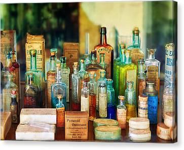 Pharmacist - Whatever Ails Ya - II Canvas Print by Mike Savad