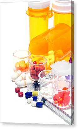 Pharmacopoeia  Canvas Print by Olivier Le Queinec