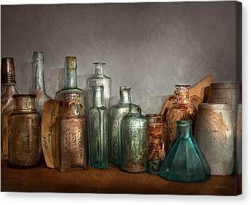 Pharmacy - Doctor I Need A Refill  Canvas Print by Mike Savad