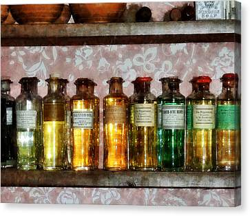 Pharmacy - Old Fashioned Remedies Canvas Print