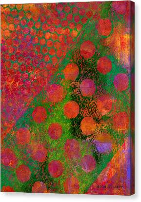 Energy Art Movement Canvas Print - Phase Series - Direction by Moon Stumpp