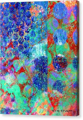 Energy Art Movement Canvas Print - Phase Series - Movement by Moon Stumpp