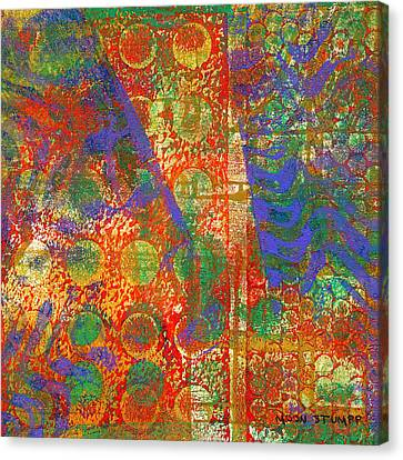 Energy Art Movement Canvas Print - Phase Series - Next by Moon Stumpp