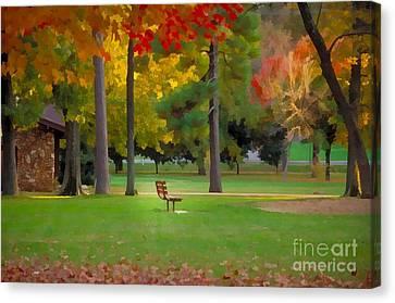 Phelps Grove Park Canvas Print