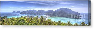 Phi Phi Island Canvas Print by Alex Dudley