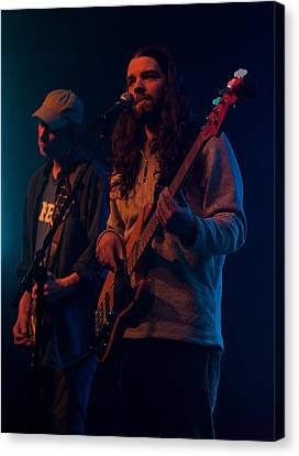 Canvas Print featuring the photograph Phil And Steve by David Stine