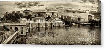 Philadelphia Art Museum 8 Canvas Print by Jack Paolini