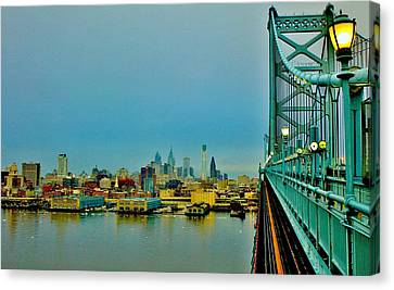 Philadelphia Canvas Print by Benjamin Yeager