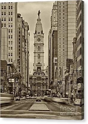 Philadelphia City Hall 2 Canvas Print