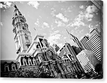 Philadelphia City Hall Canvas Print