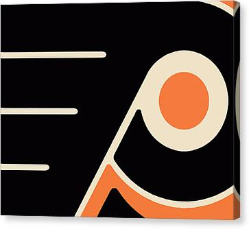 Philadelphia Flyers Size 2 Canvas Print by Tony Rubino