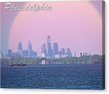 Philadelphia  Canvas Print by Tom Gari Gallery-Three-Photography