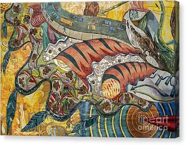 Philadelphia Mural Canvas Print by John Greim