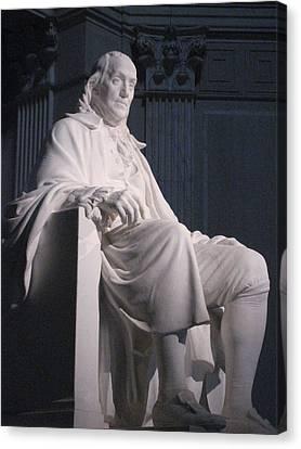 Philadelphia Pa - 12126 Canvas Print by DC Photographer