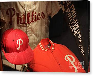 Citizens Bank Park Canvas Print - Philadelphia Phillies by David Rucker