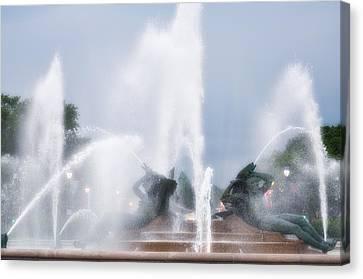 Philadelphia - Swann Memorial Fountain Canvas Print