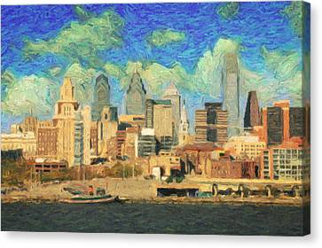 Philadelphia  Canvas Print by Taylan Apukovska