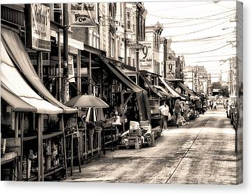 Philadelphia's Italian Market Canvas Print by Bill Cannon