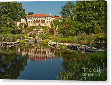 Philbrook Museum Of Art, Oklahoma Canvas Print by Richard and Ellen Thane