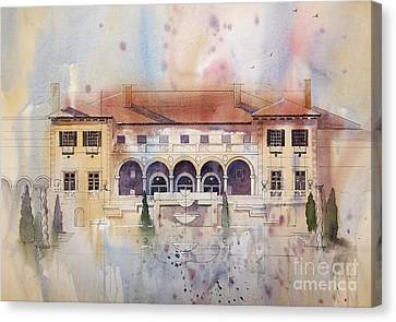 Philbrook Museum Tulsa Canvas Print by Micheal Jones