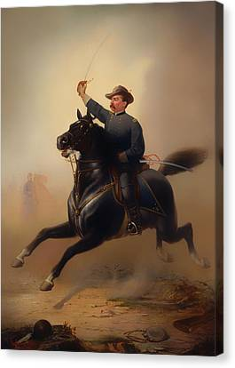 Philip Henry Sheridan Canvas Print by Mountain Dreams