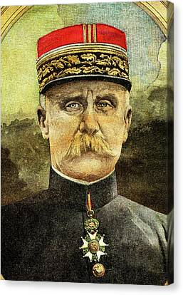 Philippe Petain Canvas Print by Collection Abecasis