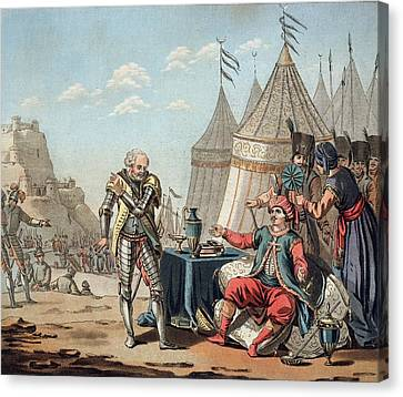 Philippe Villiers De Lisle-adam Refuses Canvas Print