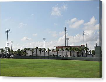 Phillies Brighthouse Stadium Clearwater Florida Canvas Print by Bill Cannon
