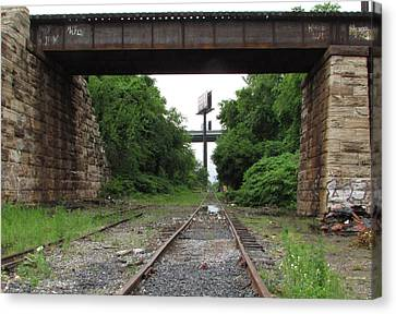 Philly 1 Canvas Print by Steve Breslow
