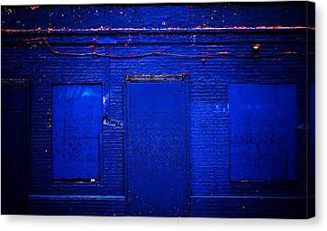 Philly Blues Canvas Print by Beth Akerman