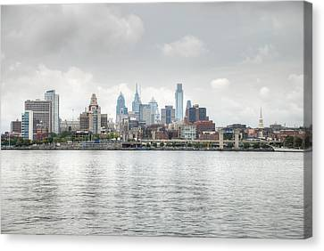 Philly Skyline Canvas Print by Jennifer Ancker