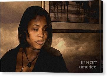 Philomina Portrait Canvas Print