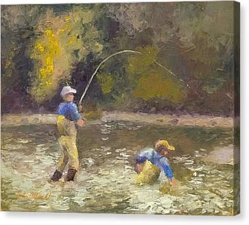 Phil's Fish Canvas Print