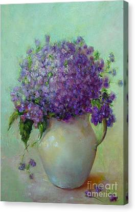 Phlox          Copyrighted Canvas Print by Kathleen Hoekstra