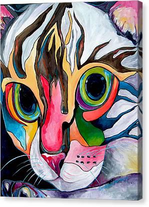 Phoebe Blu Canvas Print by Patti Schermerhorn