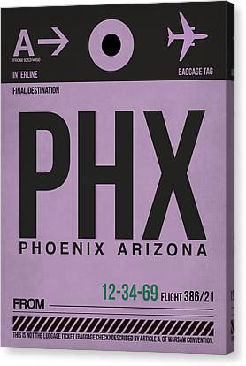 Phoenix Airport Poster 1 Canvas Print by Naxart Studio