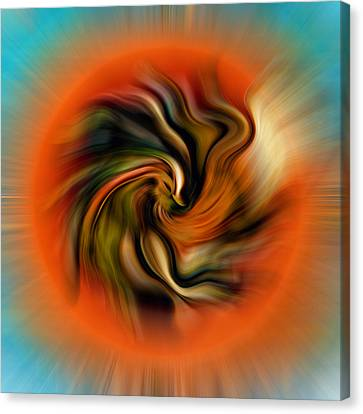 Phoenix Canvas Print by Alessandro Della Pietra