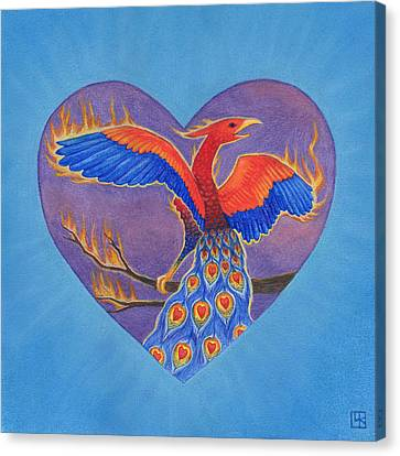 Phoenix Canvas Print by Lisa Kretchman