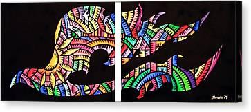 Phoenix Sf Canvas Print