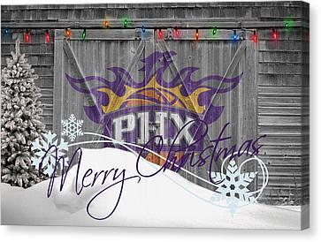 Phoenix Suns Canvas Print by Joe Hamilton